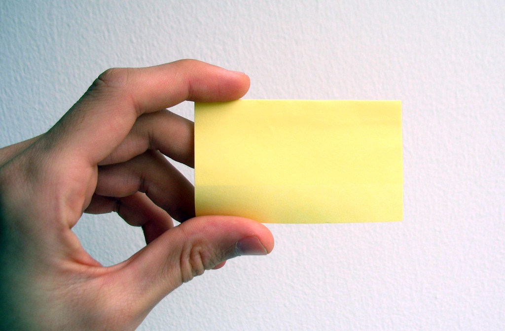 empty-business-card-hand-yellow-ppt-templates, Modern powerpoint