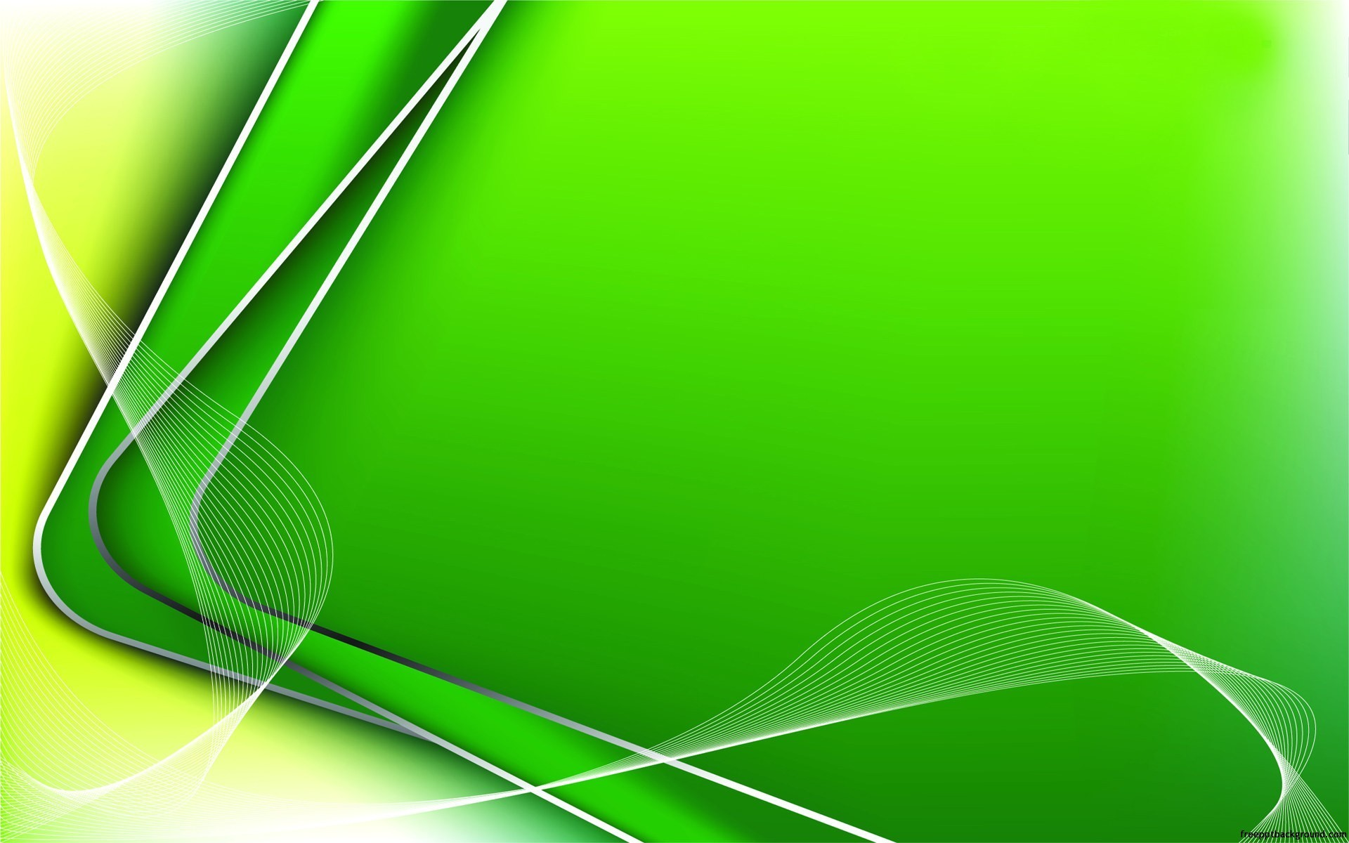 abstract-green-lines-corners-ppt, Powerpoint templates