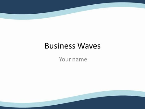 Business plan ppt templates power point templates business wave powerpoint template ppt flashek Gallery