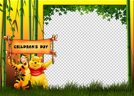 Winnie The Pooh and Friends Powerpoint Templates