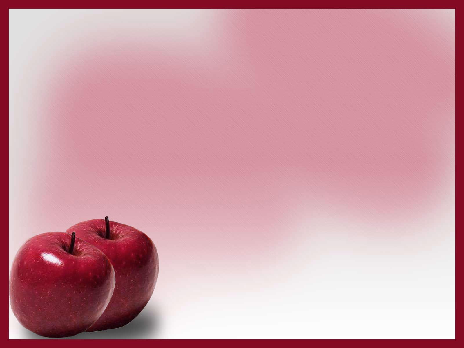 Dark red red apple powerpoint template download toneelgroepblik Choice Image