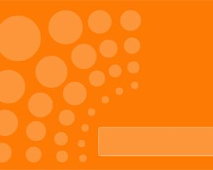 orange-bubble-backgrounds-wallpapers-ppt-template