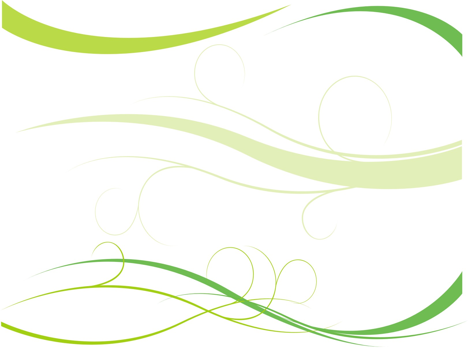 green ppt abstrack templates power point templates