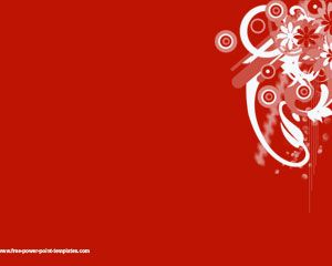 sample-red powerpoint template, Powerpoint templates