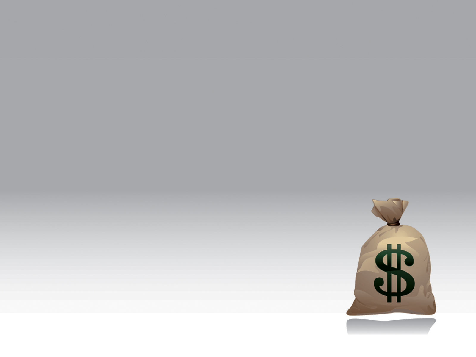 money-bag-ppt-background-template