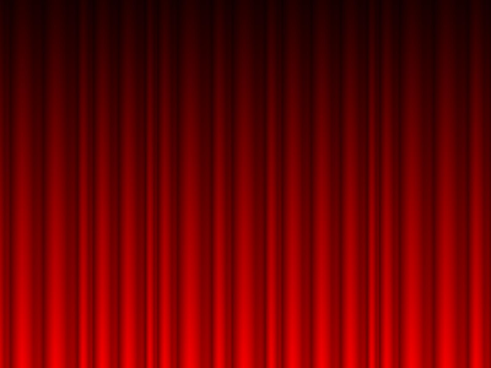Red Curtain Powerpoint Template Curtain Menzilperde Net